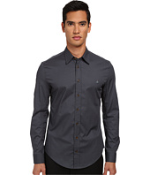 Vivienne Westwood MAN - Stretch Poplin Button Up