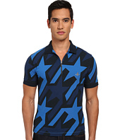 Vivienne Westwood MAN - Startooth Allover Print Zip Polo