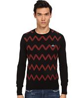 Vivienne Westwood - Zig Zag Crew Neck Sweater