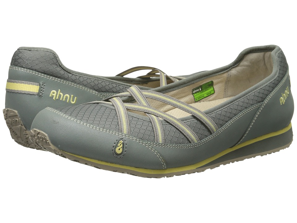 Ahnu Crissy II Agave Green Womens Slip on Shoes