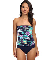Tommy Bahama - Moorea Floral Molded Cup Blouson Bandini One-Piece