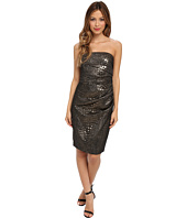 Badgley Mischka - Strapless Jacquard