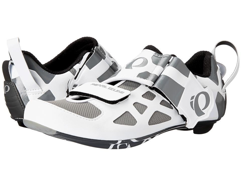 Pearl Izumi W Tri Fly V Carbon White/Black Womens Cycling Shoes