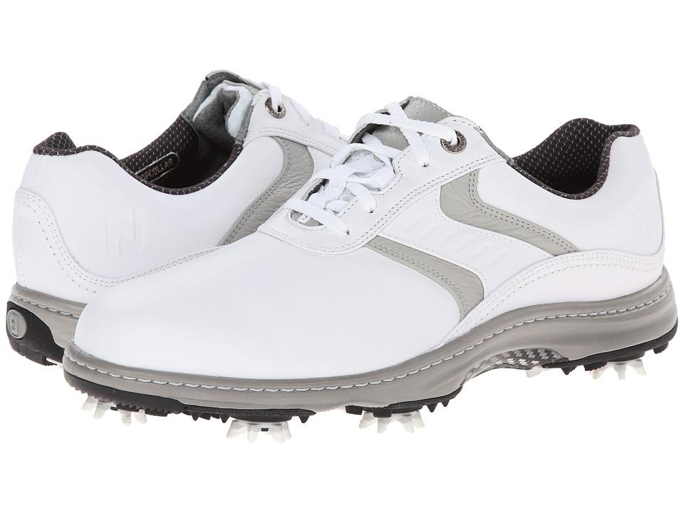 FootJoy Contour Series White/White/Light Grey Mens Golf Shoes