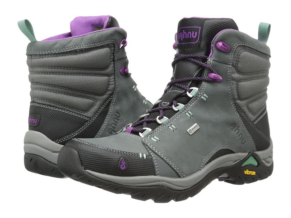 Ahnu Montara Boot Dark Grey 2 Womens Hiking Boots