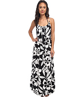 Tommy Bahama - Hawaii Floral Spaghetti Strap Long Beach Dress Cover-Up
