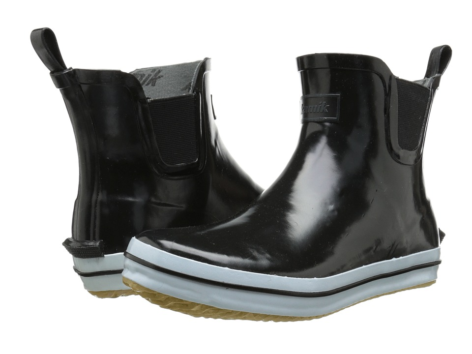 Kamik Sharon Lo Black Womens Rain Boots