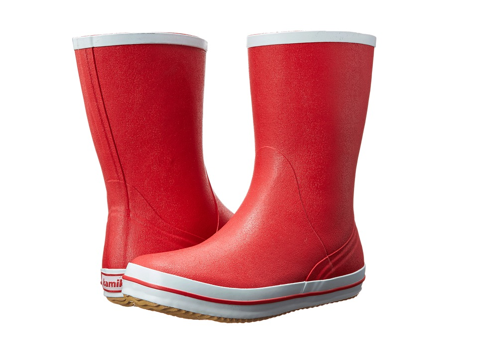 Kamik Sharon Red Womens Rain Boots