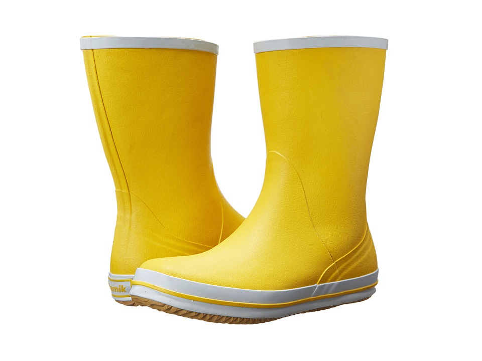 Kamik Sharon Yellow Womens Rain Boots