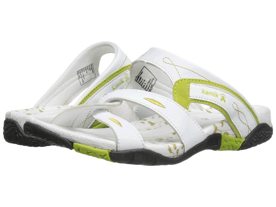 Kamik Sandbanks White Womens Sandals