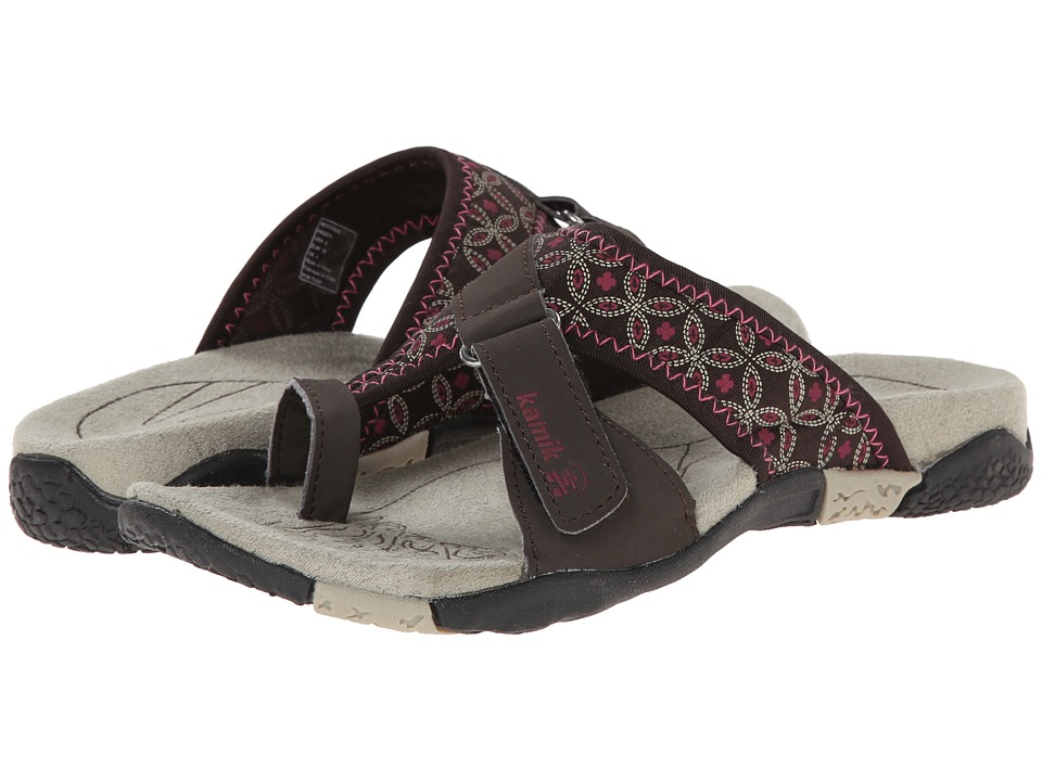Kamik Mustique Coffee Womens Sandals