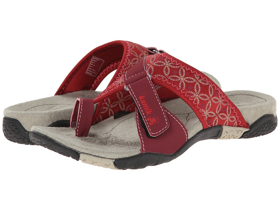 Kamik Mustique Red Womens Sandals