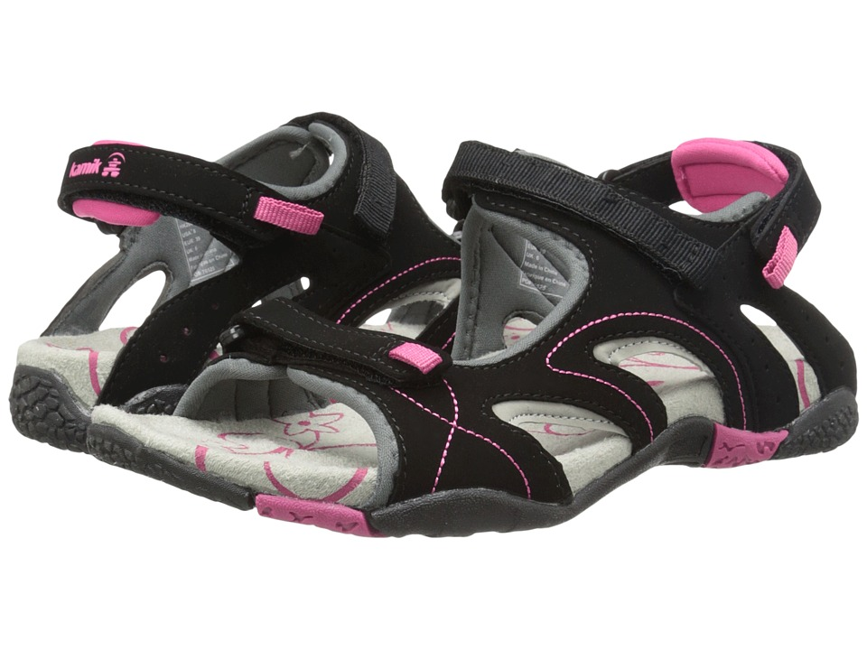 Kamik Playa Black Womens Sandals