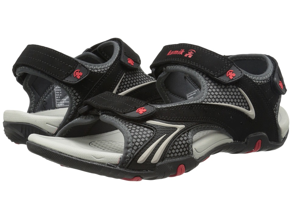 Kamik - Silverlake (Black) Mens Sandals
