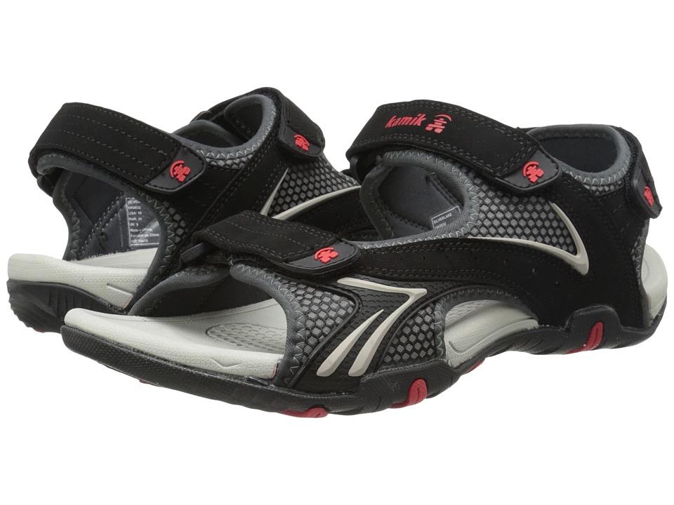 Kamik Silverlake Black Mens Sandals