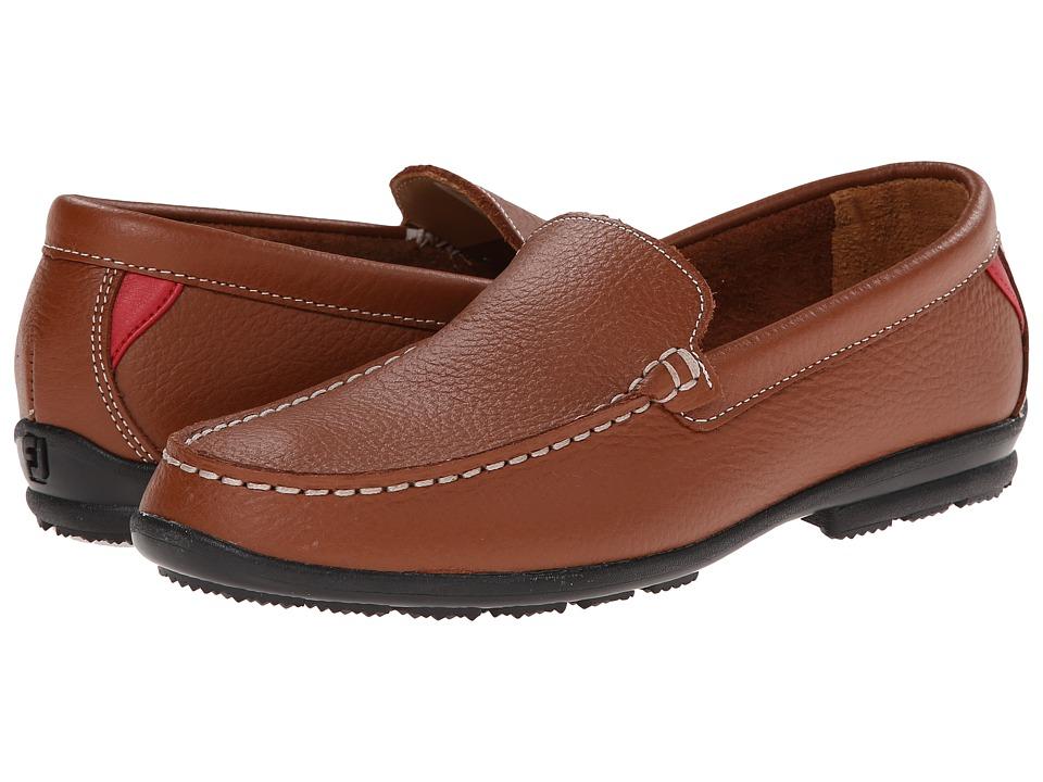 FootJoy Club Casual Loafer (Dark Brown) Men's Golf Shoes