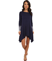 Tommy Bahama - Beach Sweater Crew Neck High-Low Cover-Up