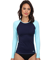 Tommy Bahama - Deck Piping Long Sleeve Rash Guard Cover-Up