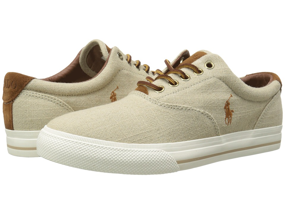 Polo Ralph Lauren Vaughn (Natural/Flax Linen/Sport Suede) Men