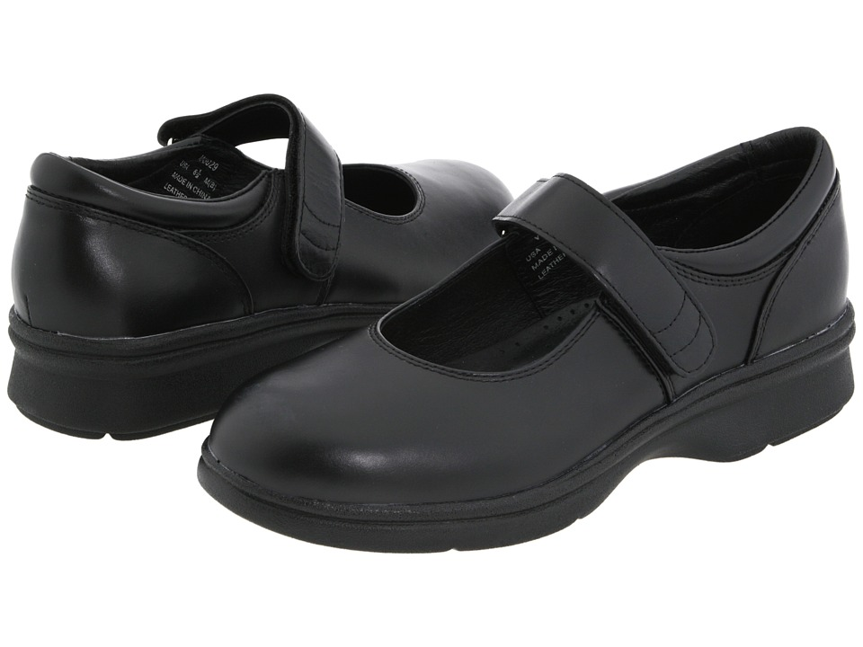Propet - Mary Jane Walker Medicare/HCPCS Code = A5500 Diabetic Shoe (Black Leather) Womens Shoes