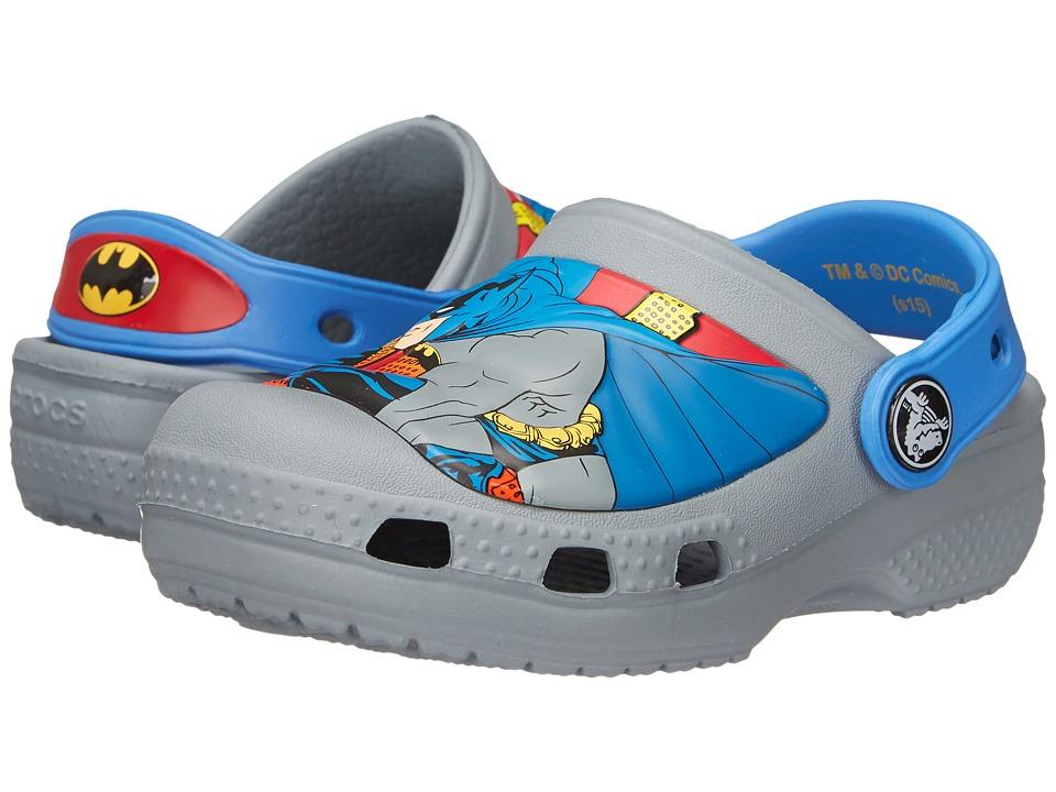 Crocs Kids Batman Clog Toddler/Little Kid Concrete Boys Shoes