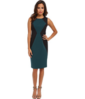 Marc New York by Andrew Marc - Square Neck Sleeveless Sheath Dress MD4X8397
