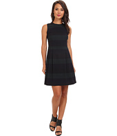 Marc New York by Andrew Marc - Jewel Neck Sleeveless Fit & Flare Dress MD4F8371