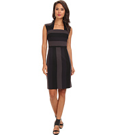 Marc New York by Andrew Marc - Envelope Collar Sheath Dress MD4F8985