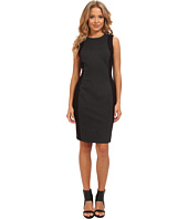 Marc New York by Andrew Marc - Sleeveless Two-Tone Sheath Dress MD4P8428