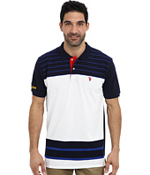 U.S. POLO ASSN. - Engineered Stripe Polo