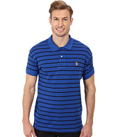 U.S. POLO ASSN. - Slim Fit Striped Cotton Interlock Polo