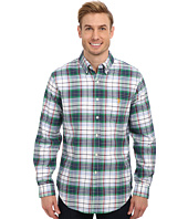 U.S. POLO ASSN. - Long Sleeve Plaid Oxford Button-Down Sport Shirt Slim Fit