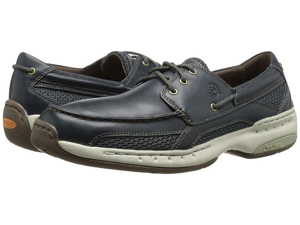 Dunham Captain Navy Mens Slip on Shoes