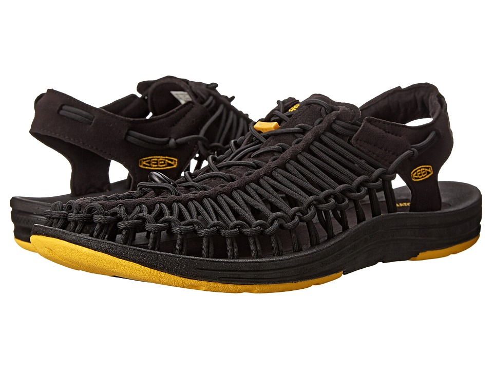 Keen - Uneek (Black) Men's Shoes