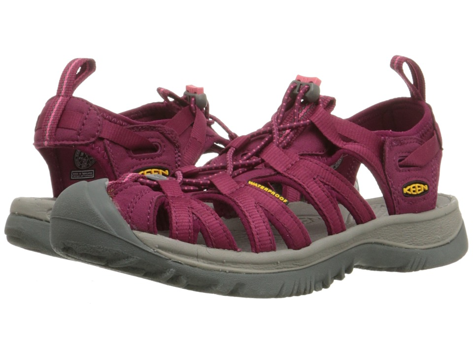 Keen - Whisper (Beet Red/Honeysuckle) Women's Sandals