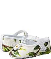 Dolce & Gabbana Kids - Floral Mary Jane (Infant/Toddler)