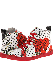 Dolce & Gabbana - Polka Dot/Rose High Top (Little Kid/Big Kid)