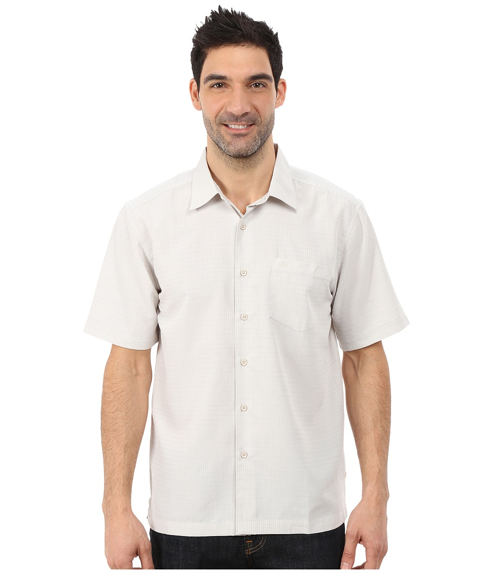 Quiksilver Waterman Centinela 4 Traditional Polynosic Woven Top Sandstone Mens Clothing