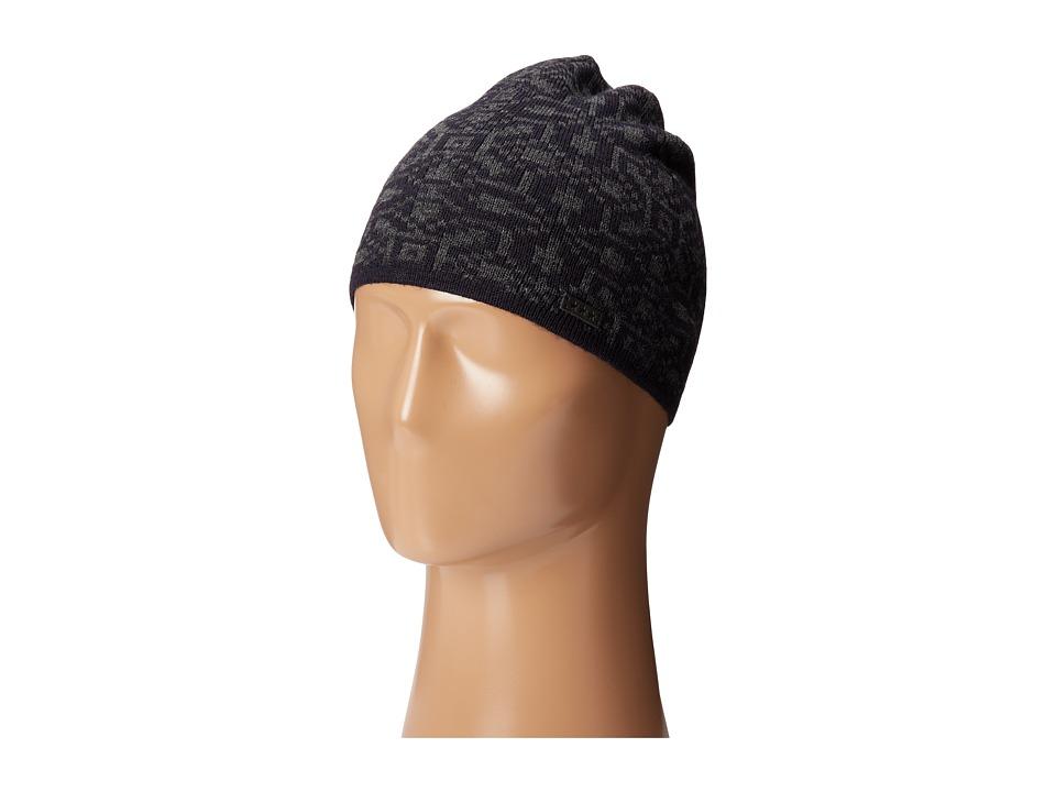 John Varvatos Star U.S.A. Fairisle Knit Skull Cap Navy Caps