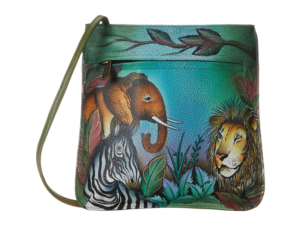 Anuschka Handbags - 452 (African Adventure) Cross Body Handbags