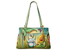 Anuschka Handbags 449 (Floral Dreams)