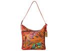 Anuschka Handbags 357 (Angel Wings Tangerine)