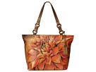 Anuschka Handbags 524 (Dreamy Dahlias Bronze)