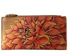 Anuschka Handbags 1121 (Dreamy Dahlias Bronze)