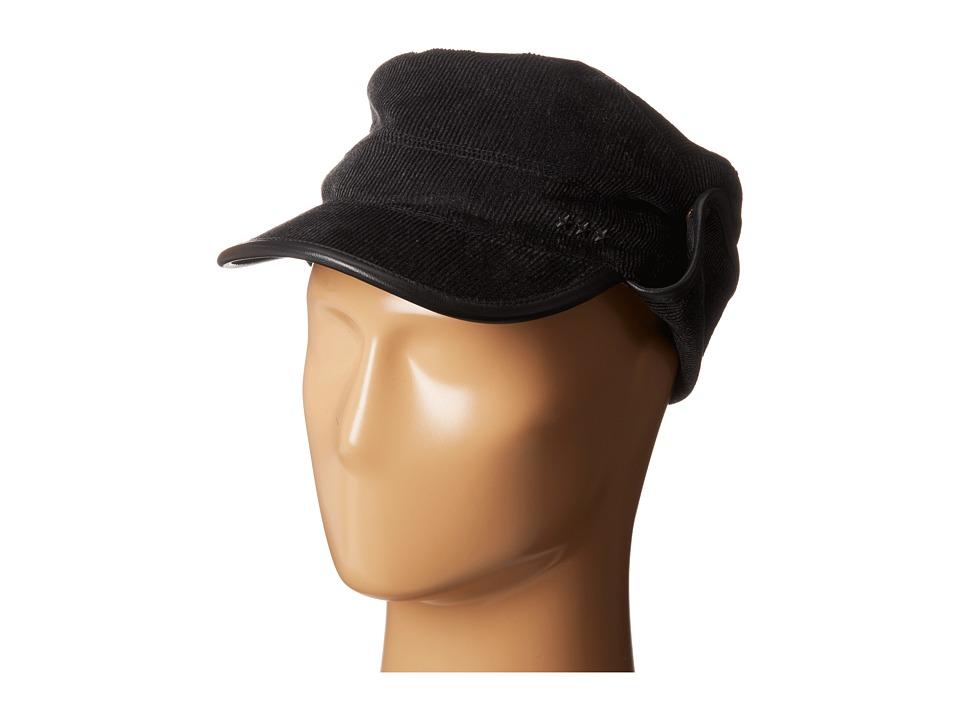 John Varvatos Star U.S.A. Military Cap Black Caps