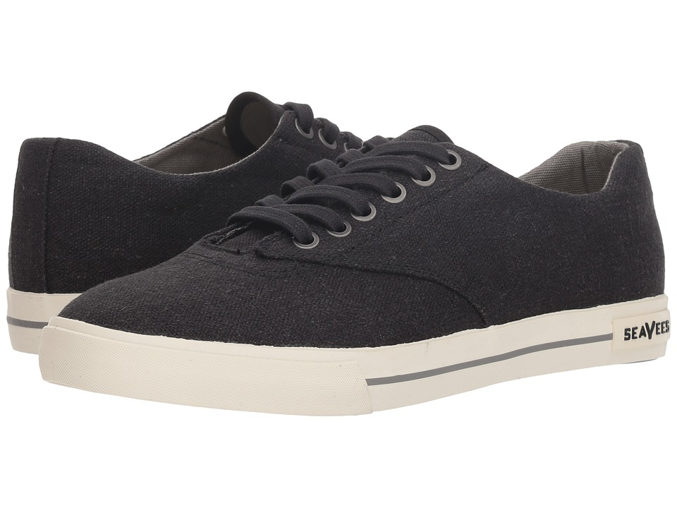 SeaVees - 08/63 Hermosa Plimsoll Standard (Black) Mens Shoes