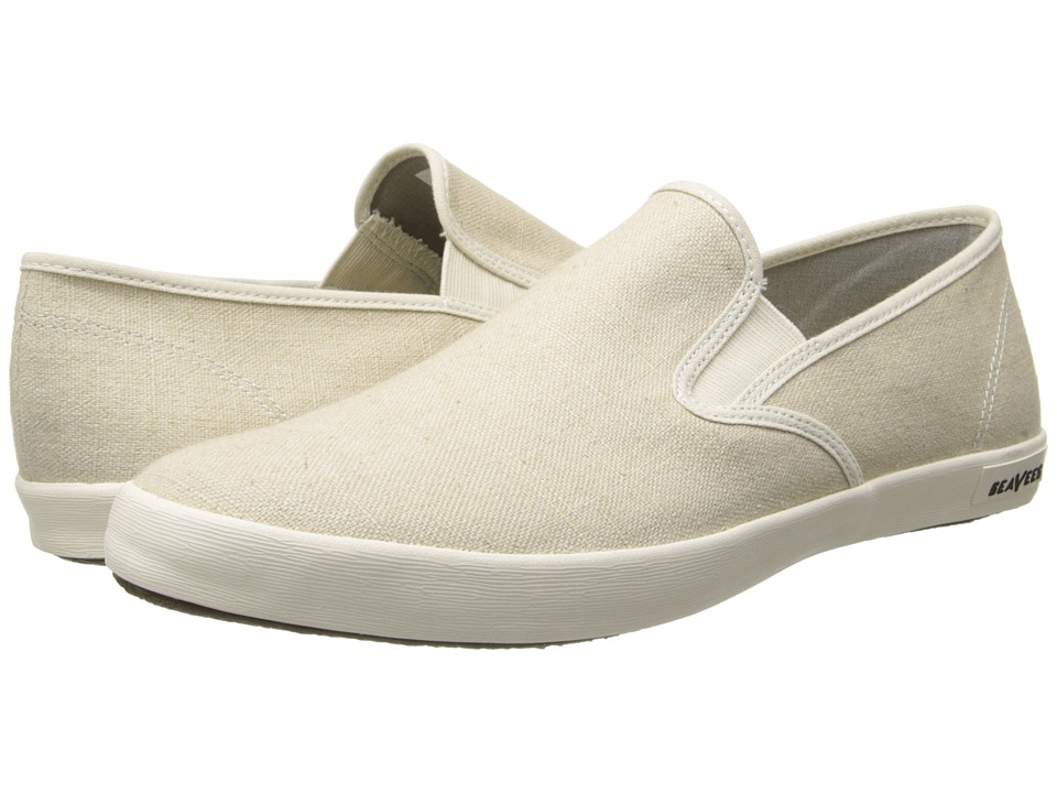 SeaVees - 02/64 Baja Slip-on Standard (Natural) Mens Shoes