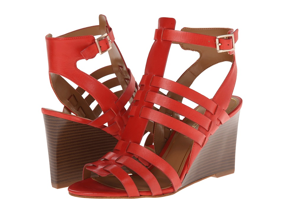 Enzo Angiolini - Vanhi (Red Leather) Women's Shoes