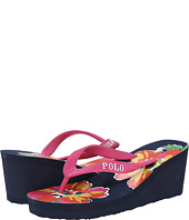 Polo Ralph Lauren Kids - Floral Wedge (Little Kid/Big Kid)