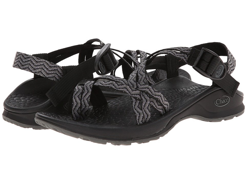 Chaco Updraft EcoTread X2 Black Waves Womens Sandals